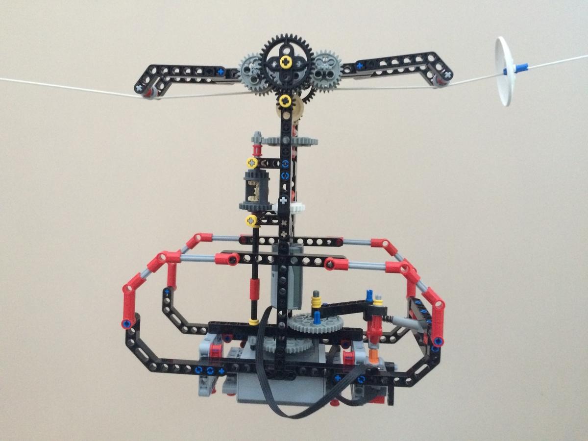 Lego Ideas Product Ideas Lego Technic Cable Car