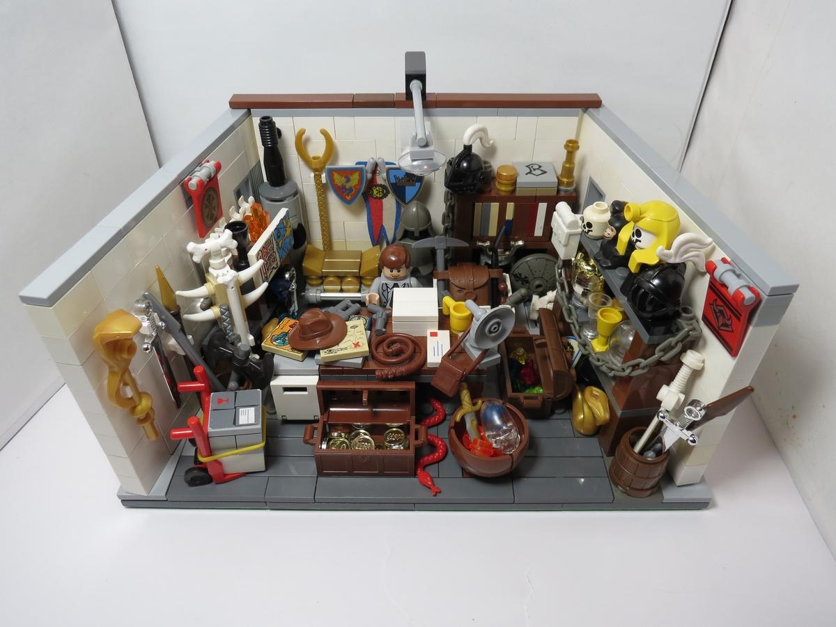 LEGO IDEAS - Product Ideas - Indiana Jones  Office 482f48d540c