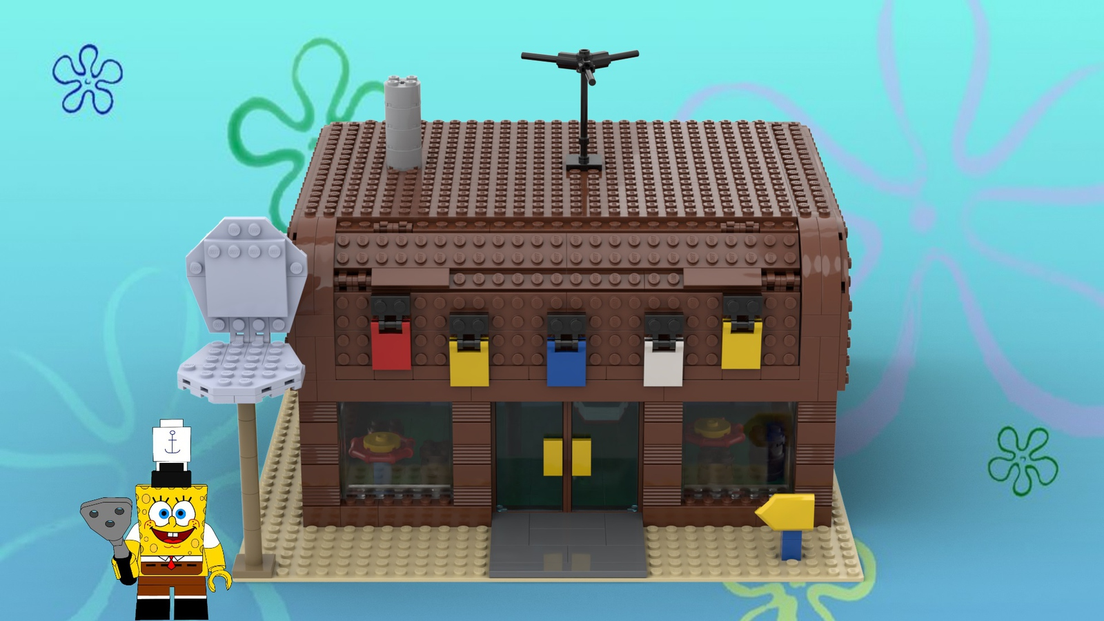 Lego Ideas Product Ideas Spongebob Squarepants The Krusty Krab