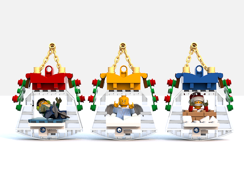 Lego Ideas Product Ideas Christmas Ornaments