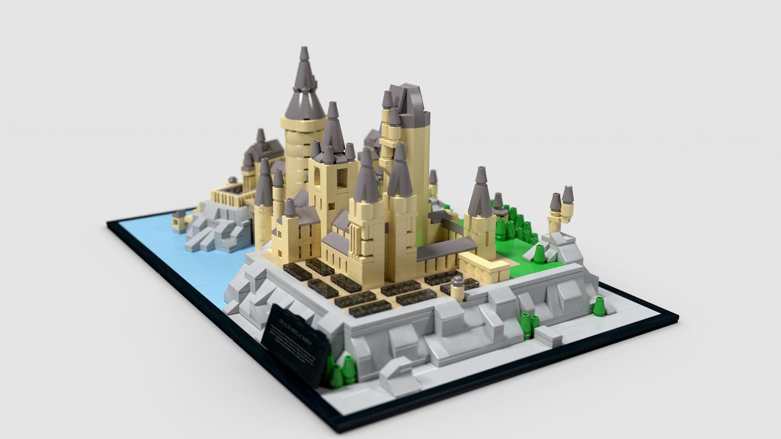 Lego Ideas Product Ideas Hogwarts Castle Micro