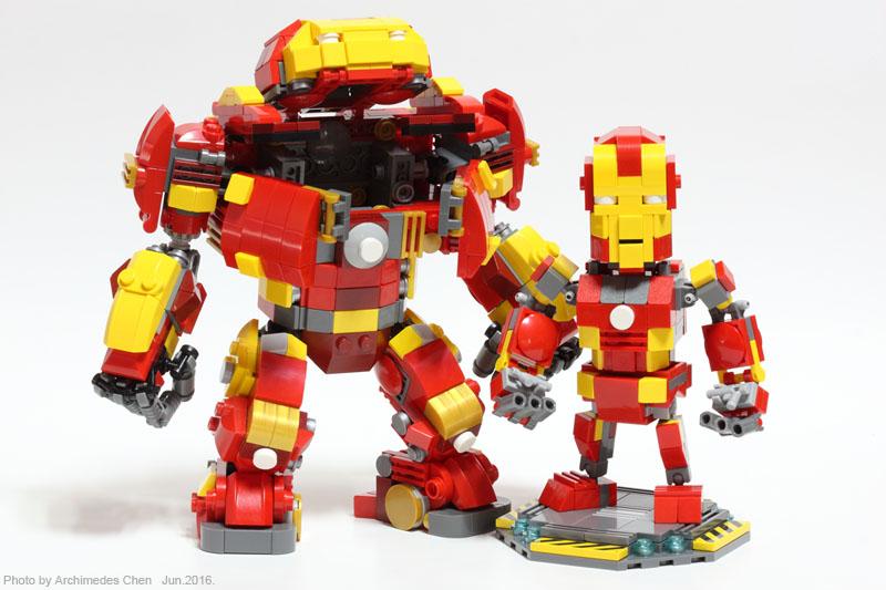 LEGO IDEAS - Product Ideas - Iron Man & Hulkbuster