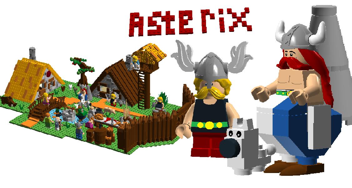 Lego Ideas Product Ideas Asterix Obelix Village