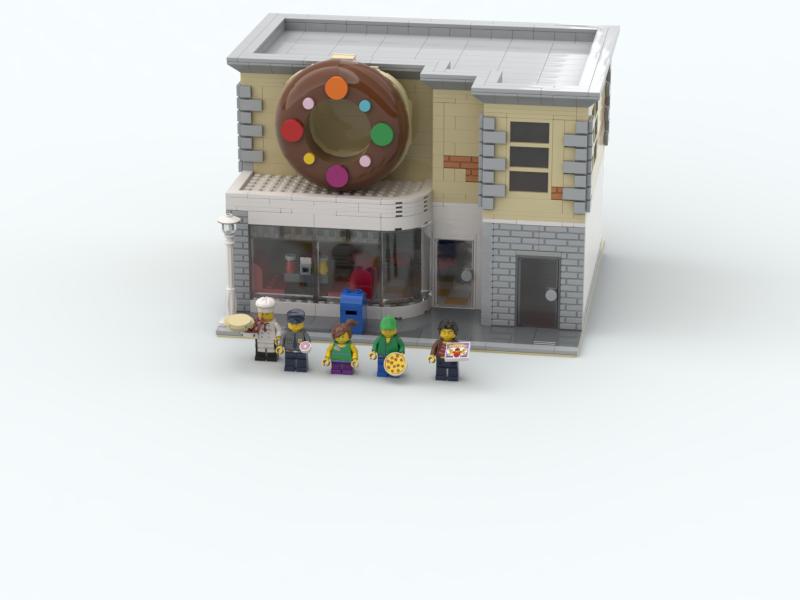 LEGO IDEAS - Product Ideas - Donut Diner