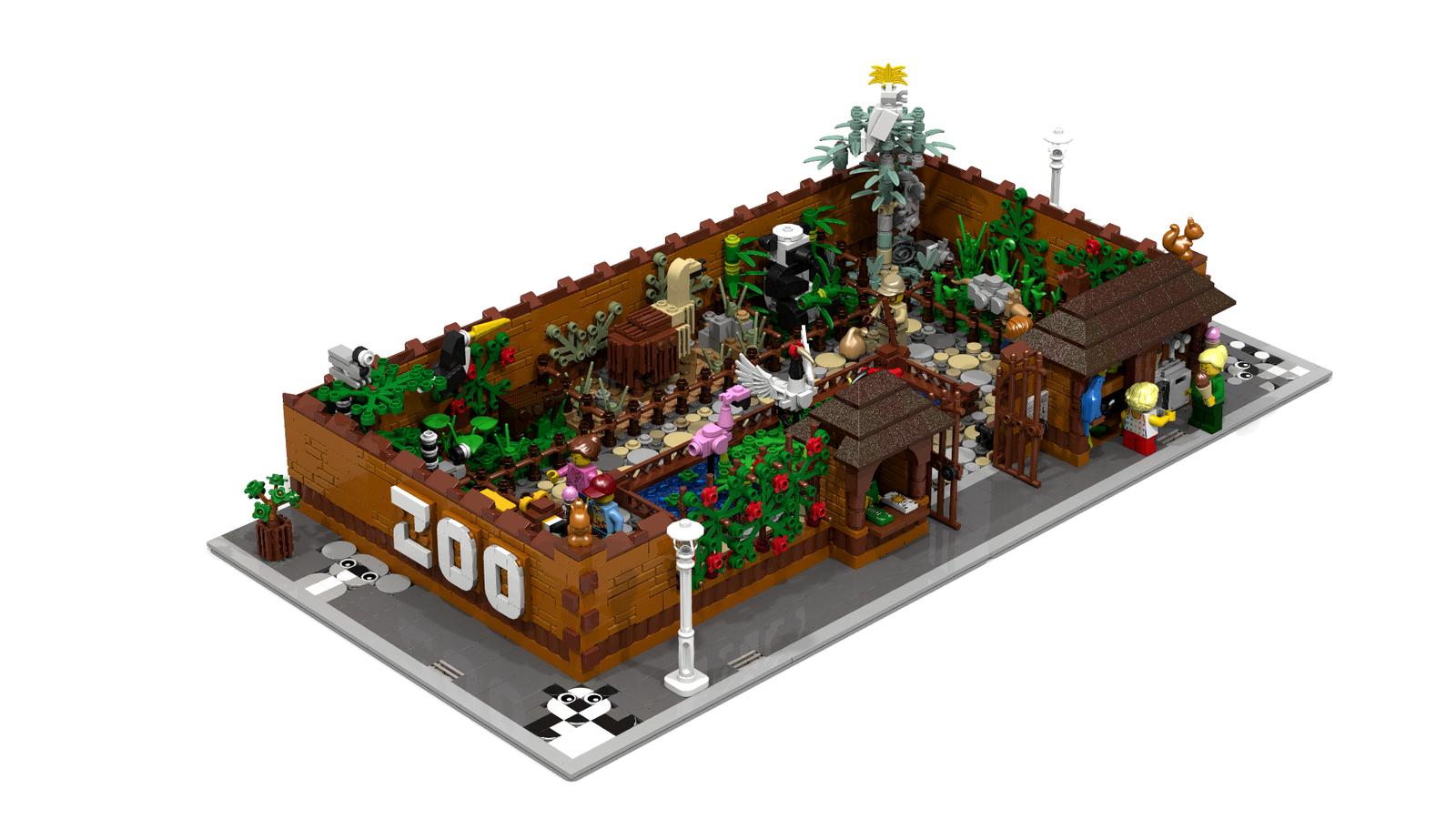 Lego Ideas Product Ideas City Zoo
