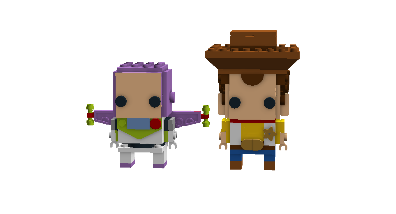 Lego Ideas Product Ideas Toy Story Brickheadz