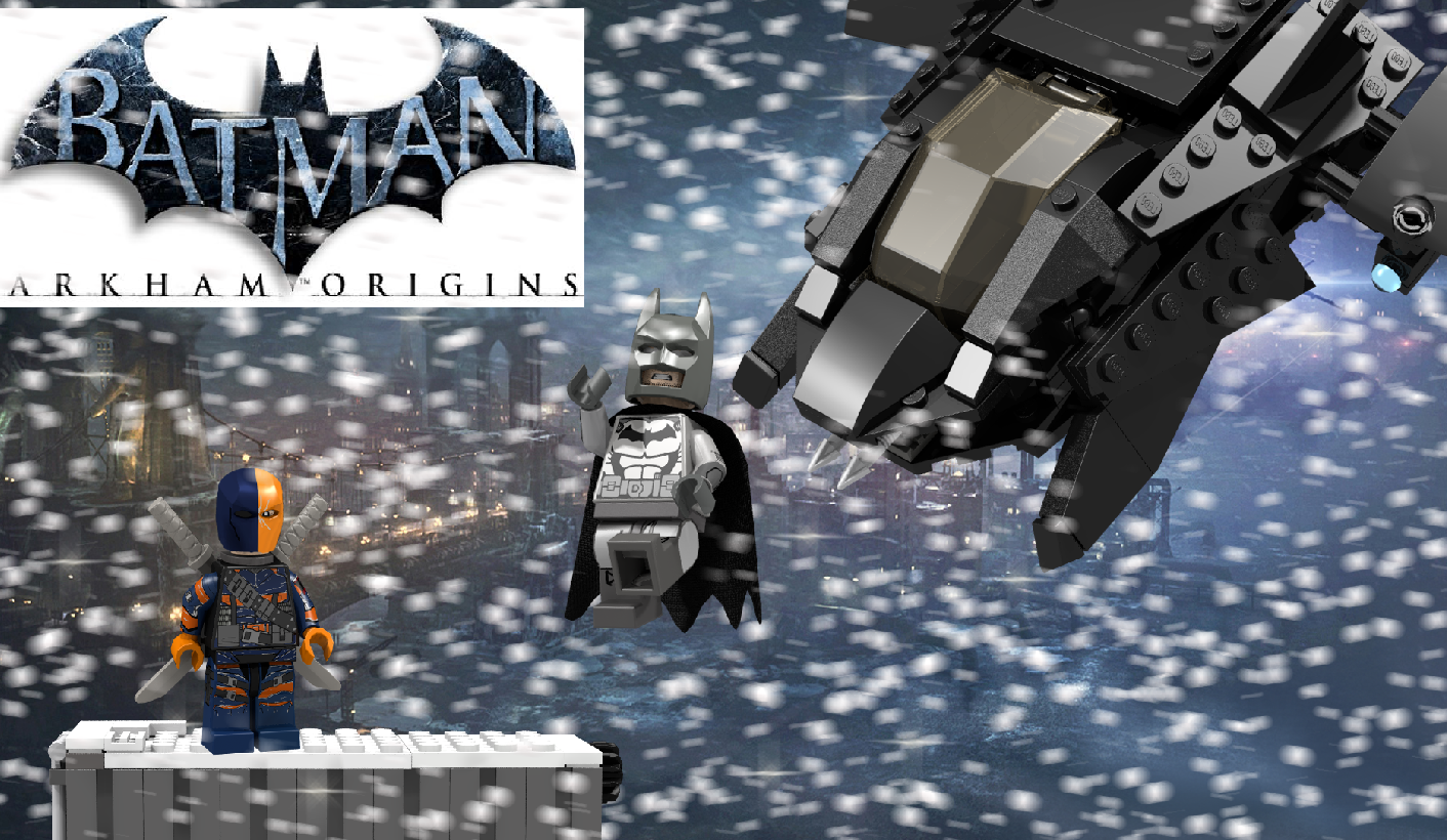 Batman arkham origins deathstrokes first attempt