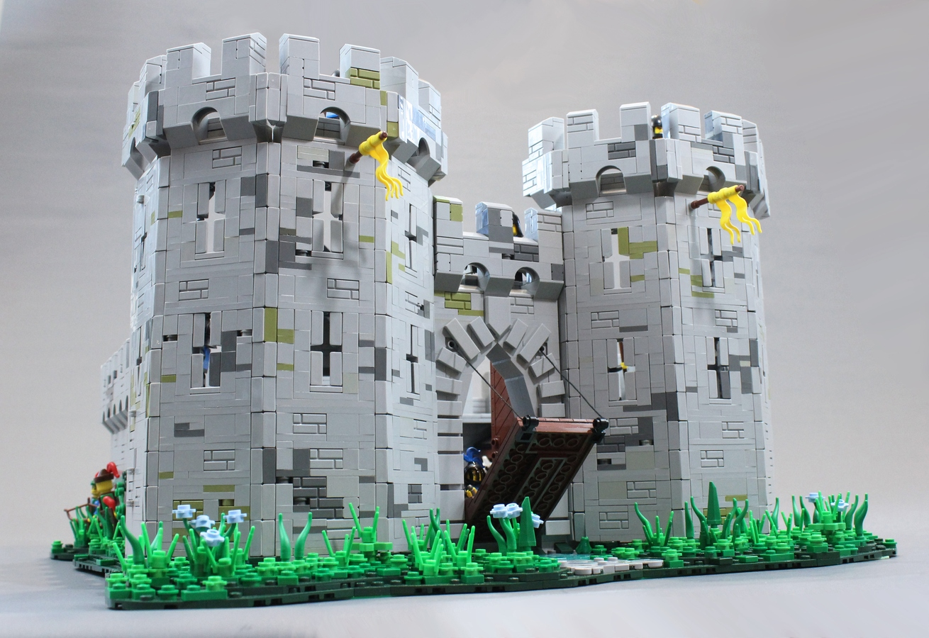 Lego Ideas Product Ideas Black Falcons Fortress