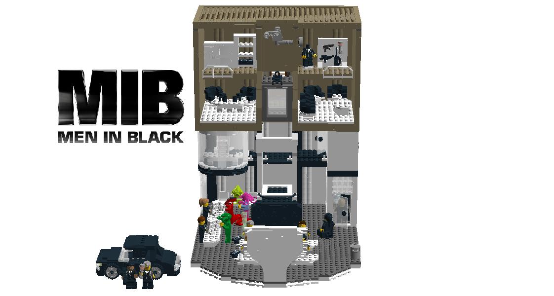 Lego Ideas Product Ideas Men In Black Headquarter Building