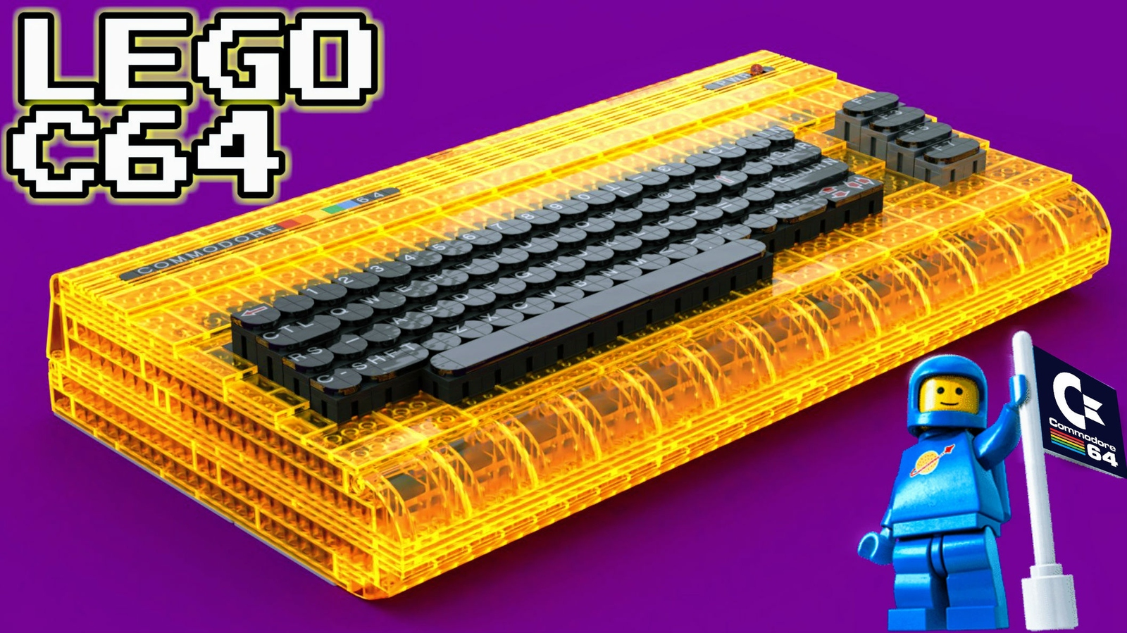 LEGO IDEAS - Product Ideas - Full-Size Working Commodore 64
