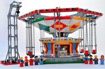 Lego Free Fall Tower Set