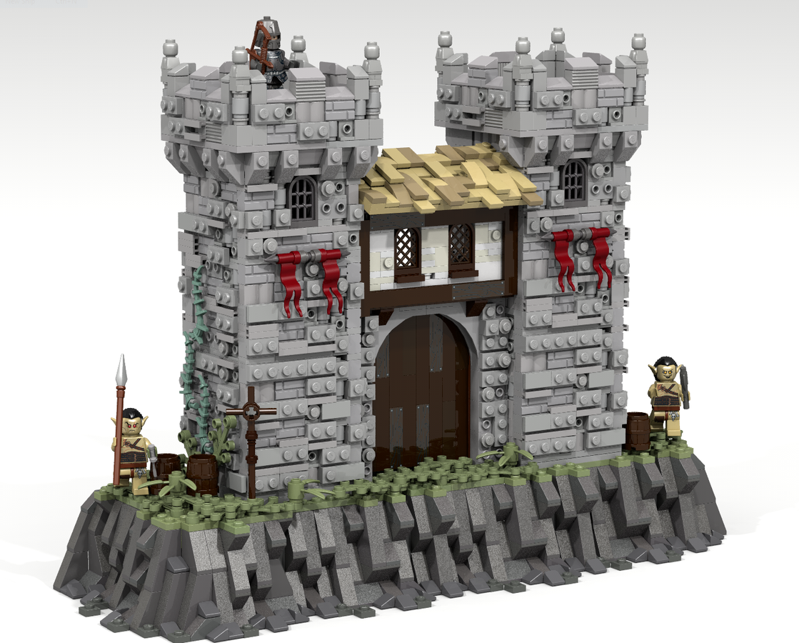 Lego Ideas Product Ideas Medieval Castle Gate