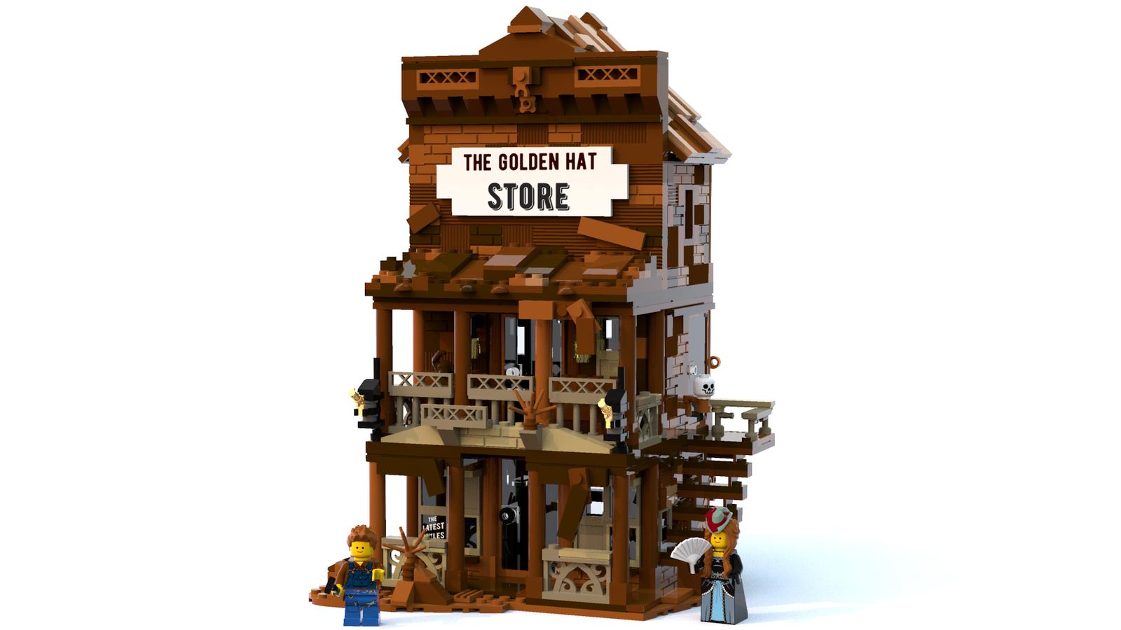 1847e7badd9 LEGO IDEAS - Product Ideas - The Golden Hat Store