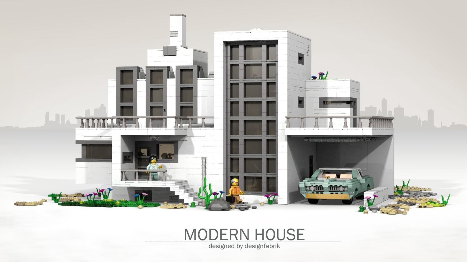 LEGO IDEAS - Product Ideas - Modern House \