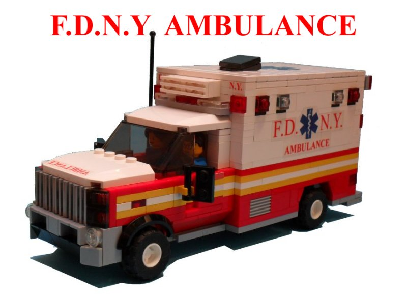 Lego ideas product ideas fdny ambulance - Lego ambulance ...