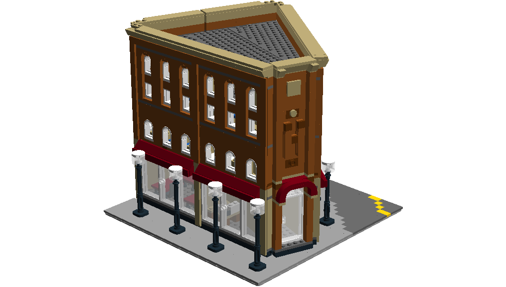 Lego Ideas Product Ideas Lego Creator Apartment Building