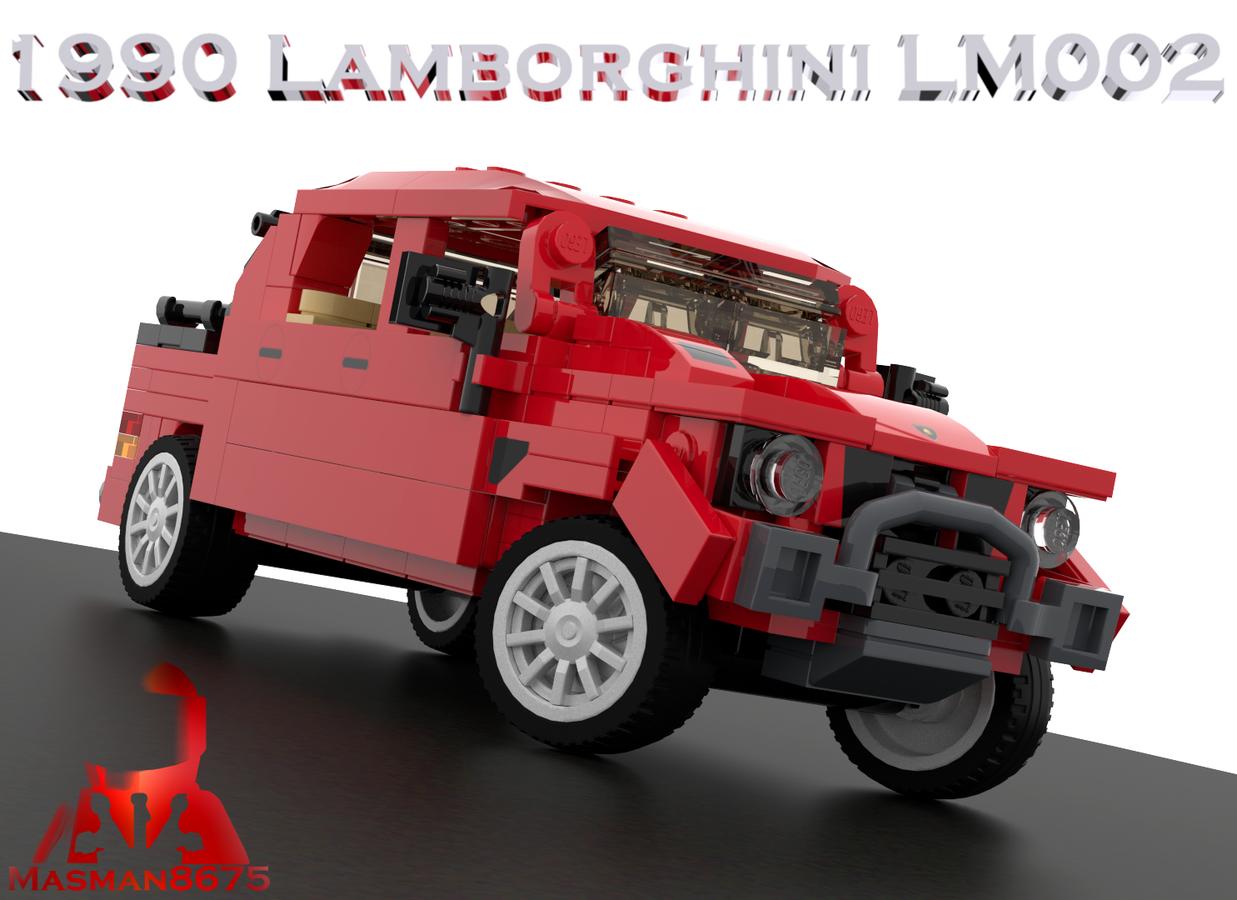 LEGO IDEAS - Product Ideas - 1990 Lamborghini LM002