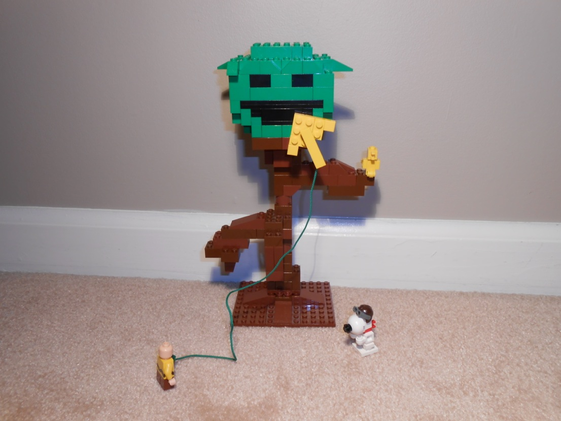 Lego Ideas Product Ideas Charlie Brown And The Kite Eating Tree
