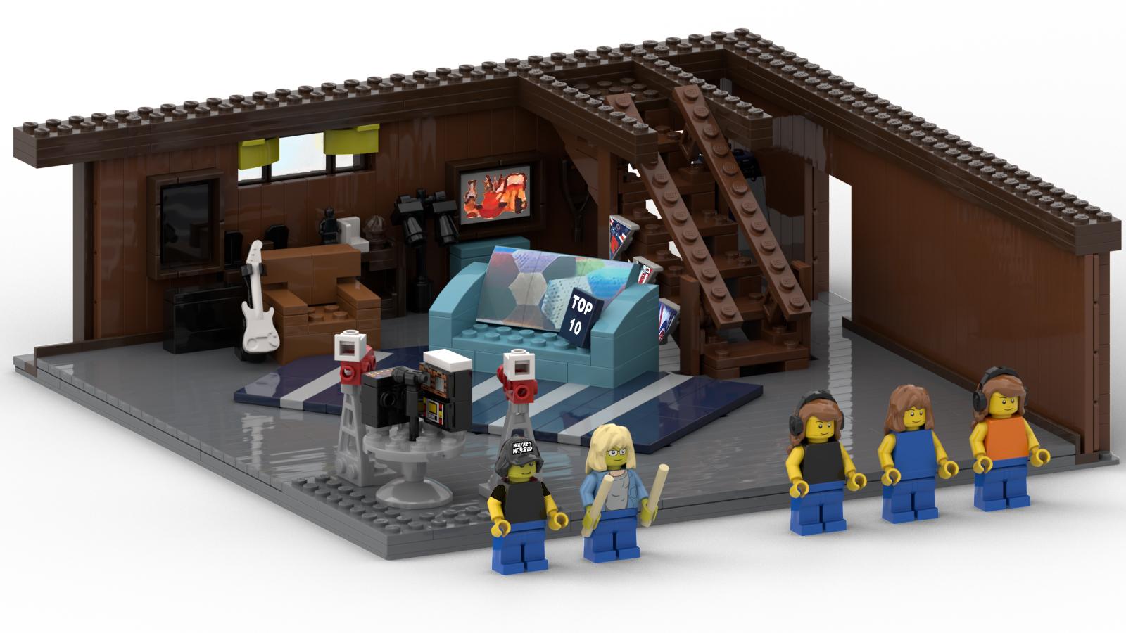 Lego Ideas Product Ideas Waynes World Waynes Basement