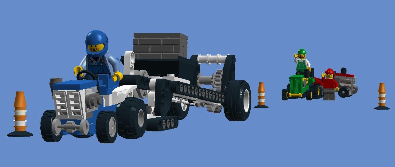 LEGO IDEAS - Product Ideas - Lego Tractor Pulls!