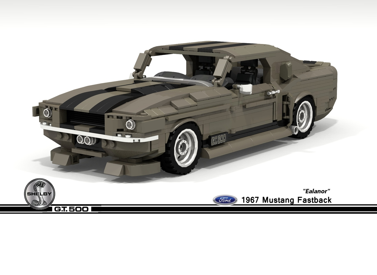 Lego Ideas Product Ideas 1967 Ford Mustang Shelby Gt500 Fastback