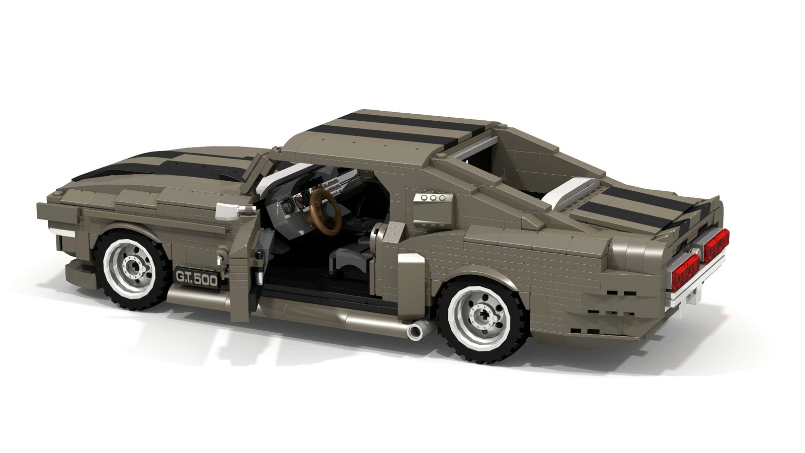 1967 ford mustang shelby gt500 fastback ealanor
