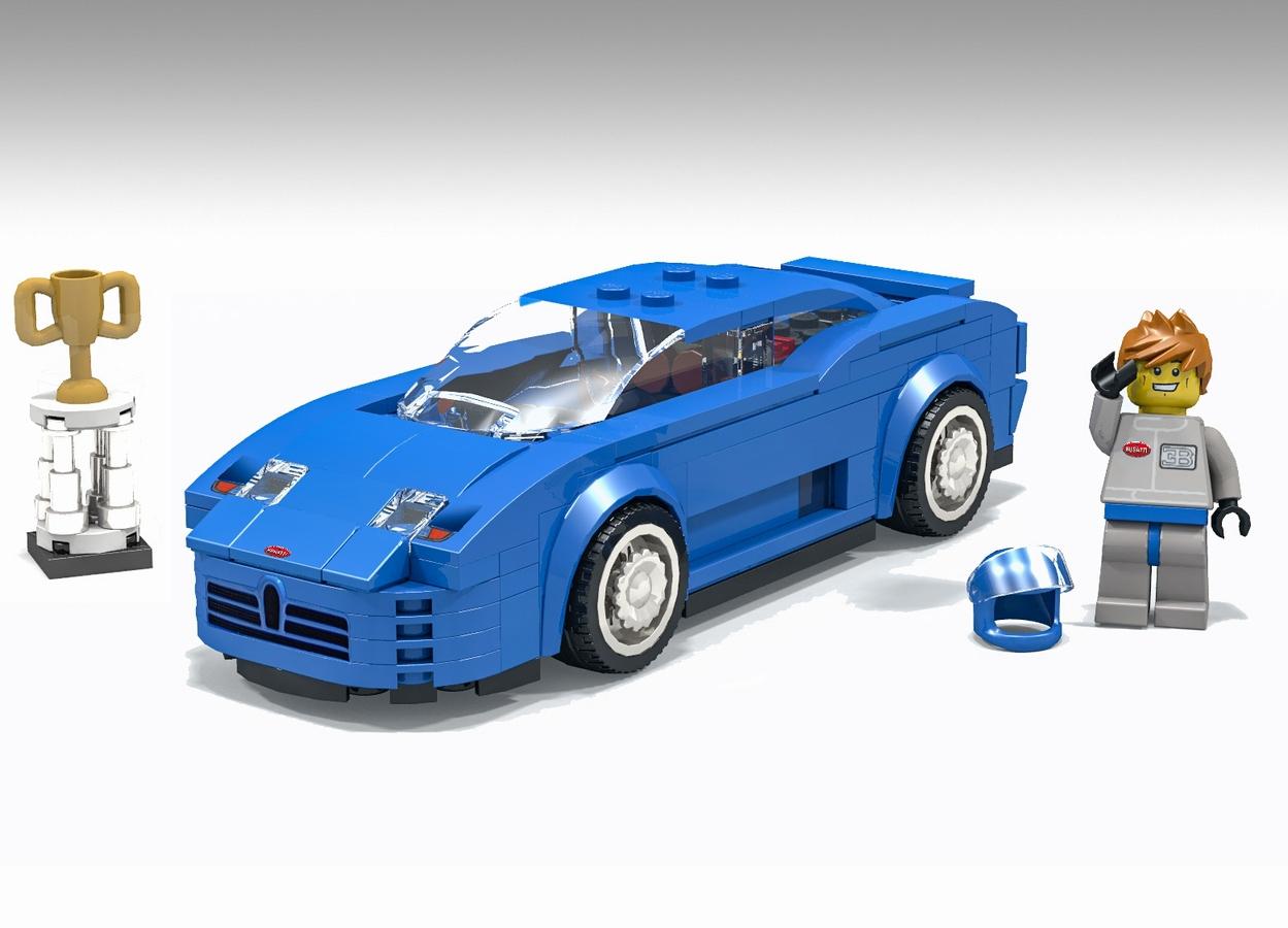 lego ideas - product ideas - bugatti eb110 lego speed champions