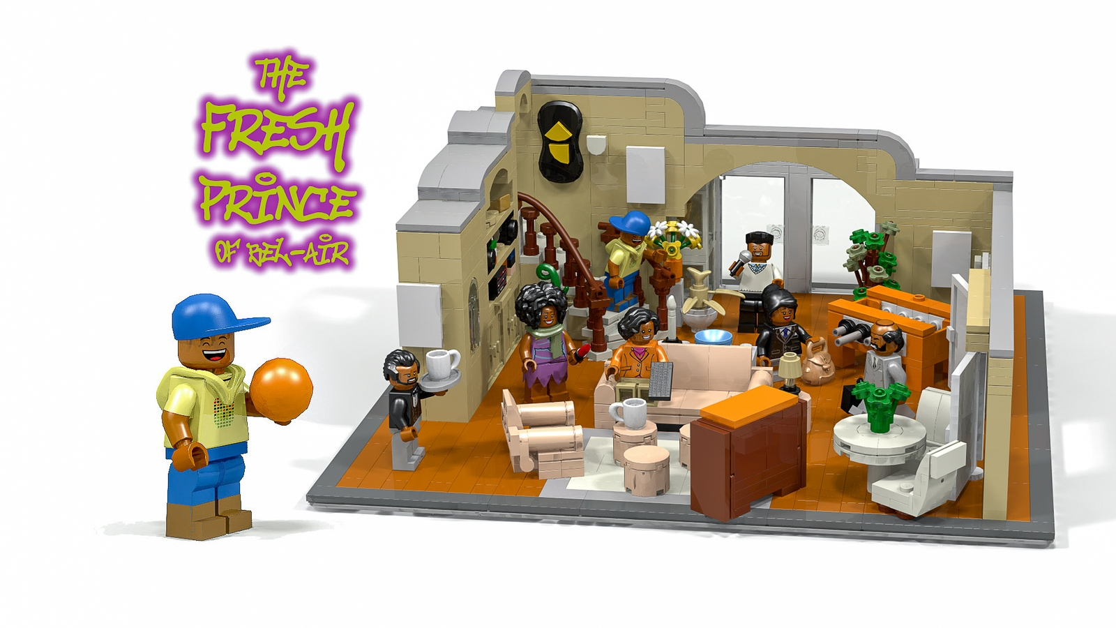 Lego Ideas Product Ideas The Fresh Prince Of Bel Air
