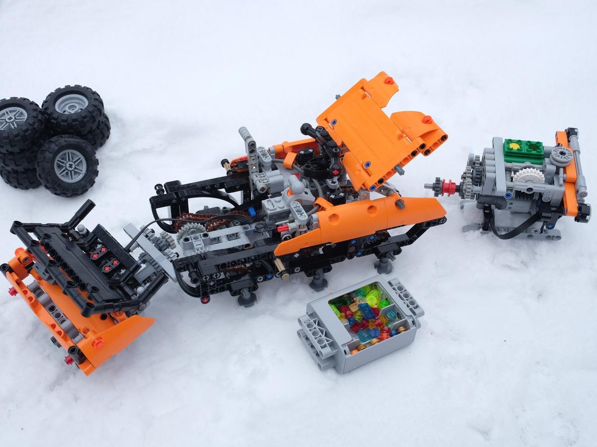 Lego Ideas Product Ideas Argo 6x6 Xtv