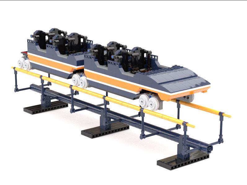 LEGO IDEAS - Product Ideas - Arrow Dynamics Looping-Rollercoaster Train