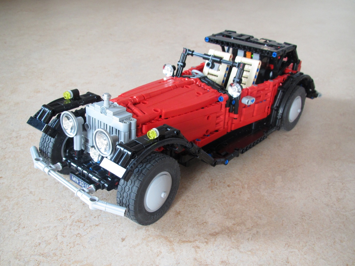 Lego Ideas Product Ideas Rolls Royce Phantom Ii 1934
