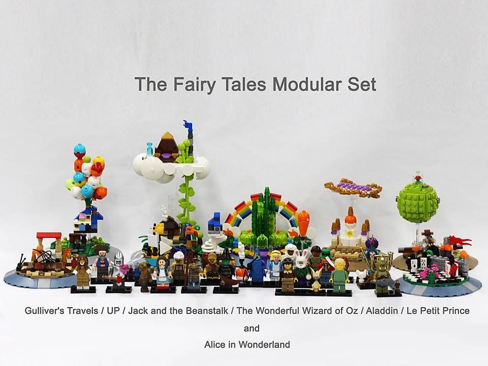 Lego Ideas Product Ideas Fairy Tale Modular Set