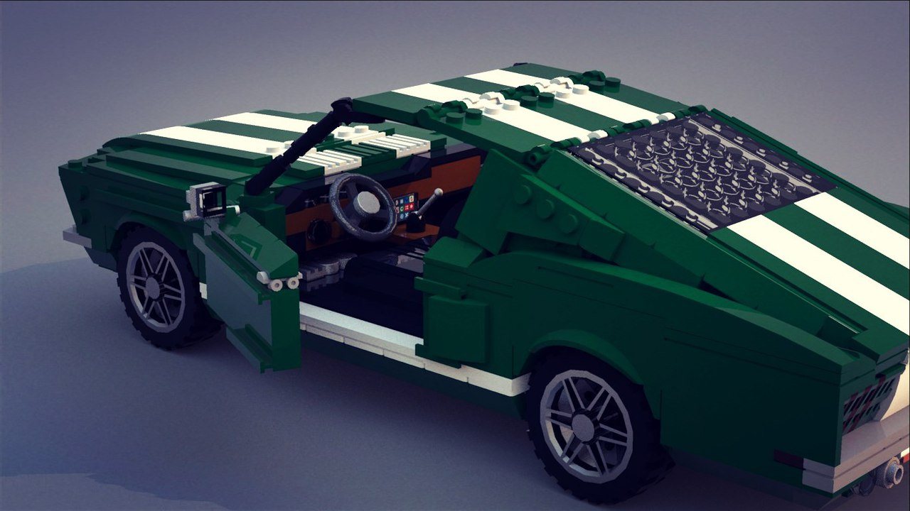 Lego Ideas Product Ford Mustang Fastback 1968 Nissan Silvia S15 Mona Lisa 1 9