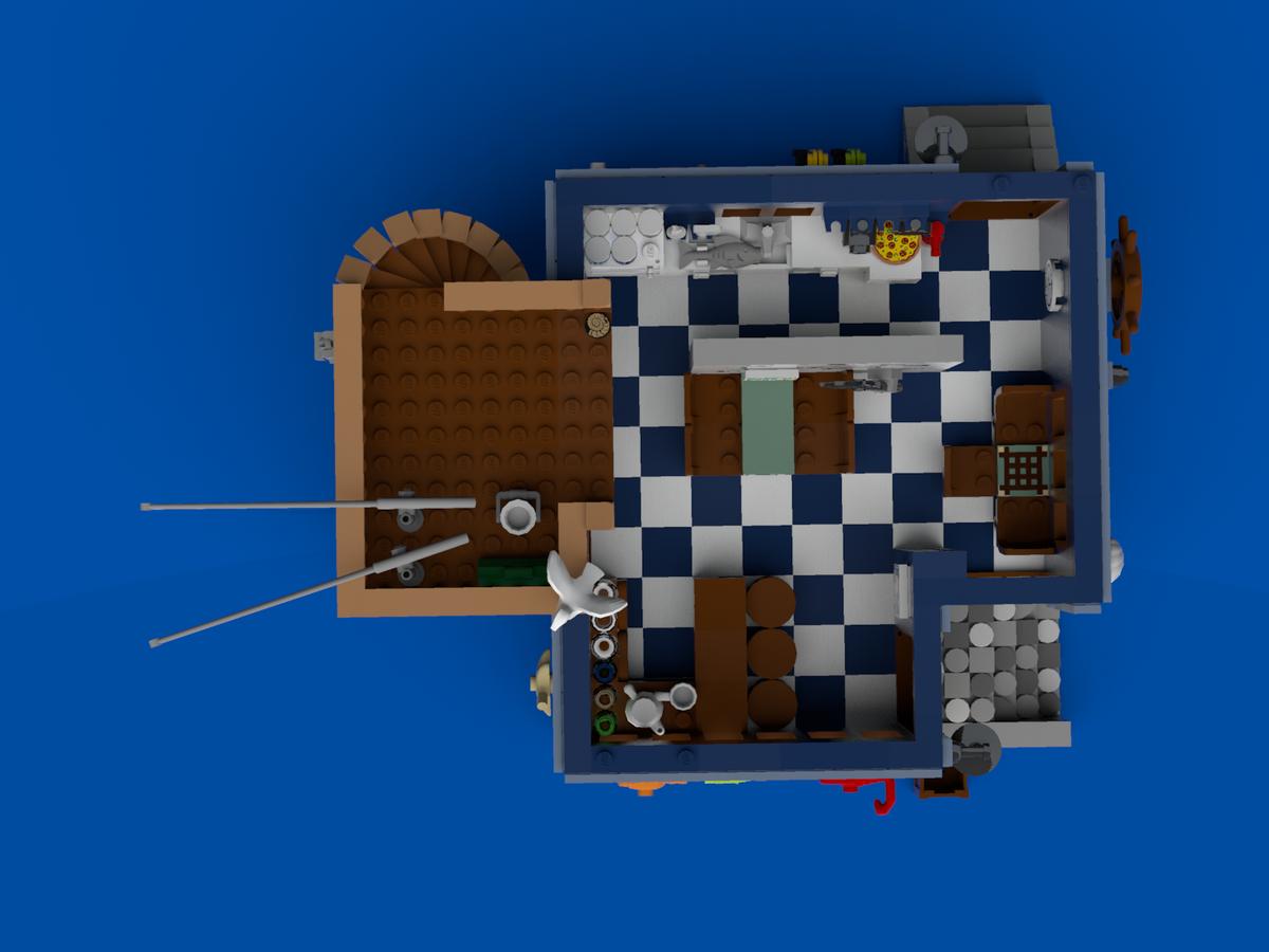 Sand Bar Cafe Lego