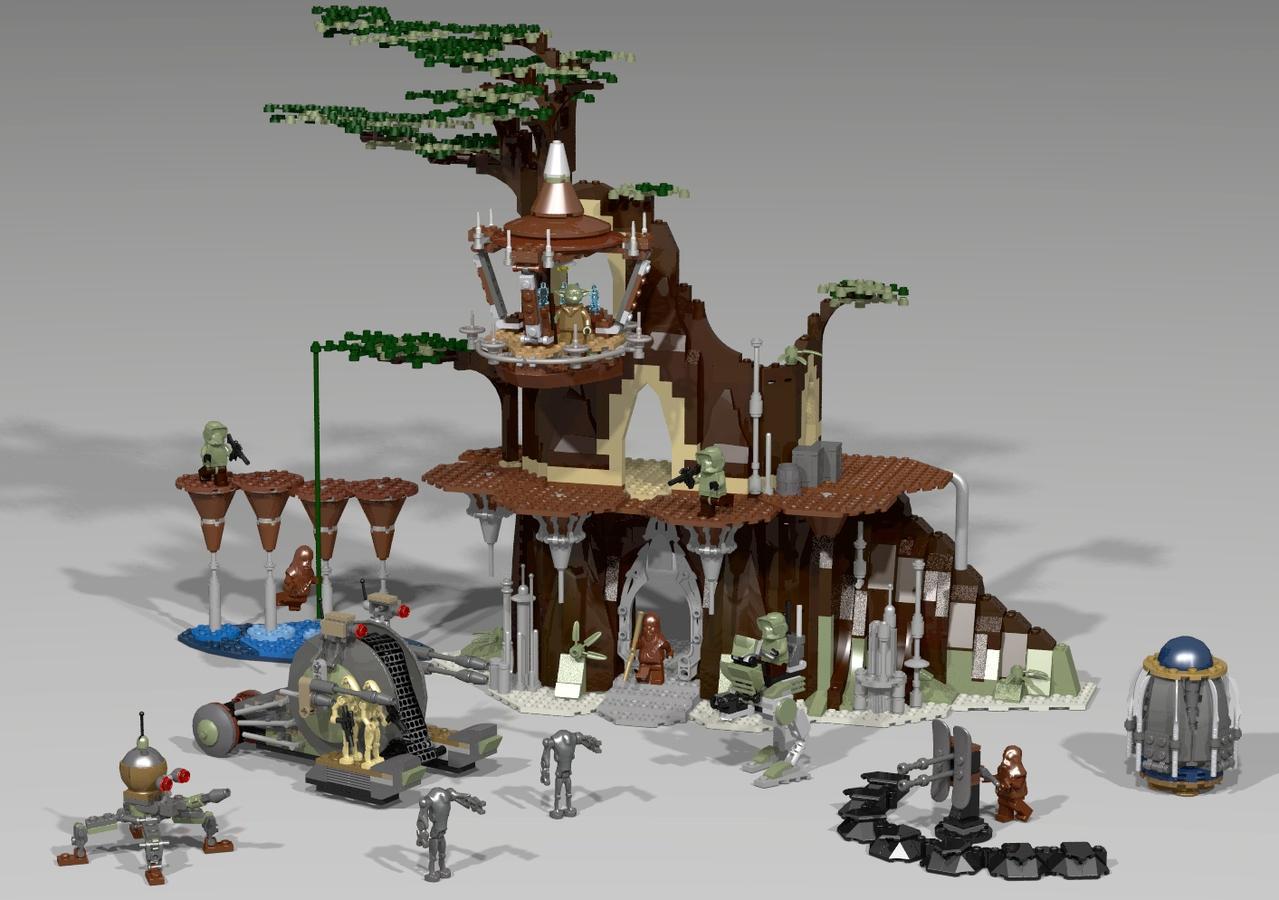 LEGO IDEAS - Product Ideas - Star Wars Episode 3 - Kashyyyk