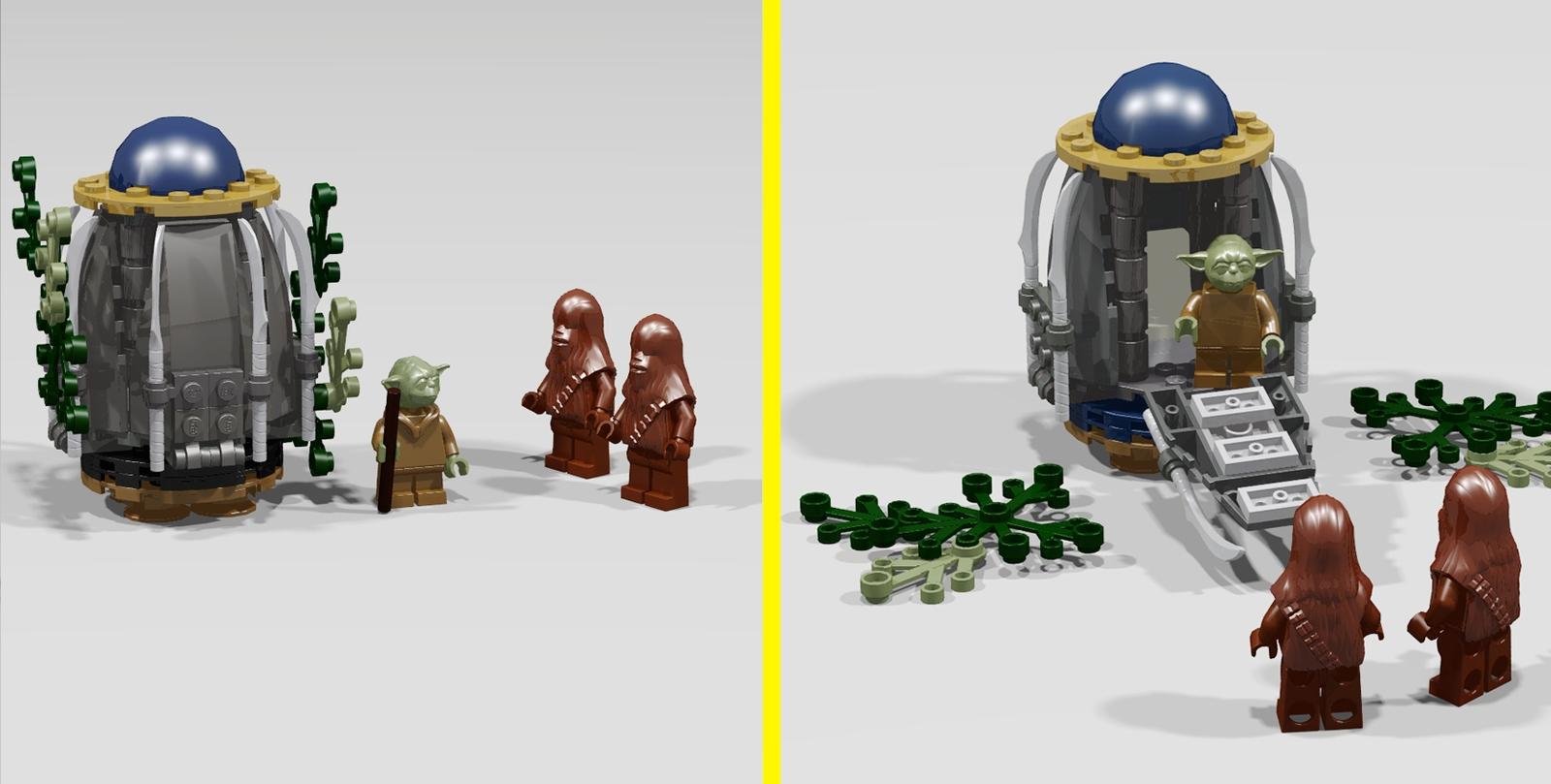 Lego Ideas Product Ideas Star Wars Episode 3 Kashyyyk Attack