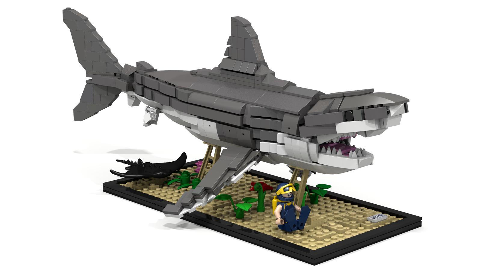 Lego Ideas Product Ideas Great White Shark