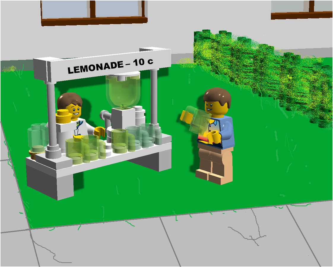 LEGO IDEAS - Product Ideas - Lemonade stand