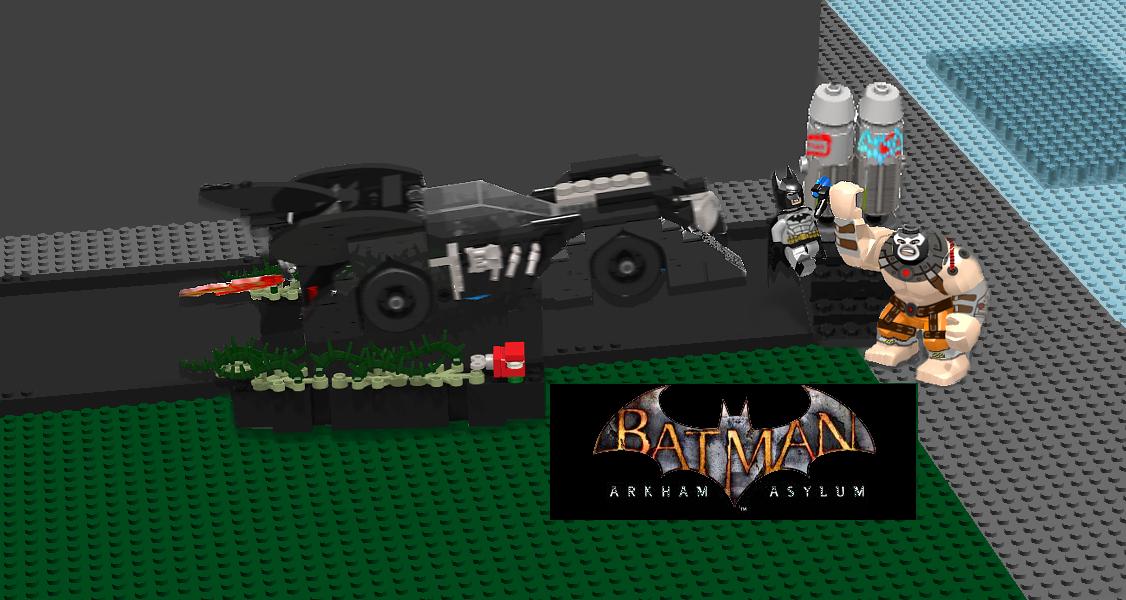 Lego Ideas Product Ideas Batman Arkham Asylum Bane Attack