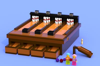 LEGO IDEAS - Product Ideas - Retro Bowling Alley