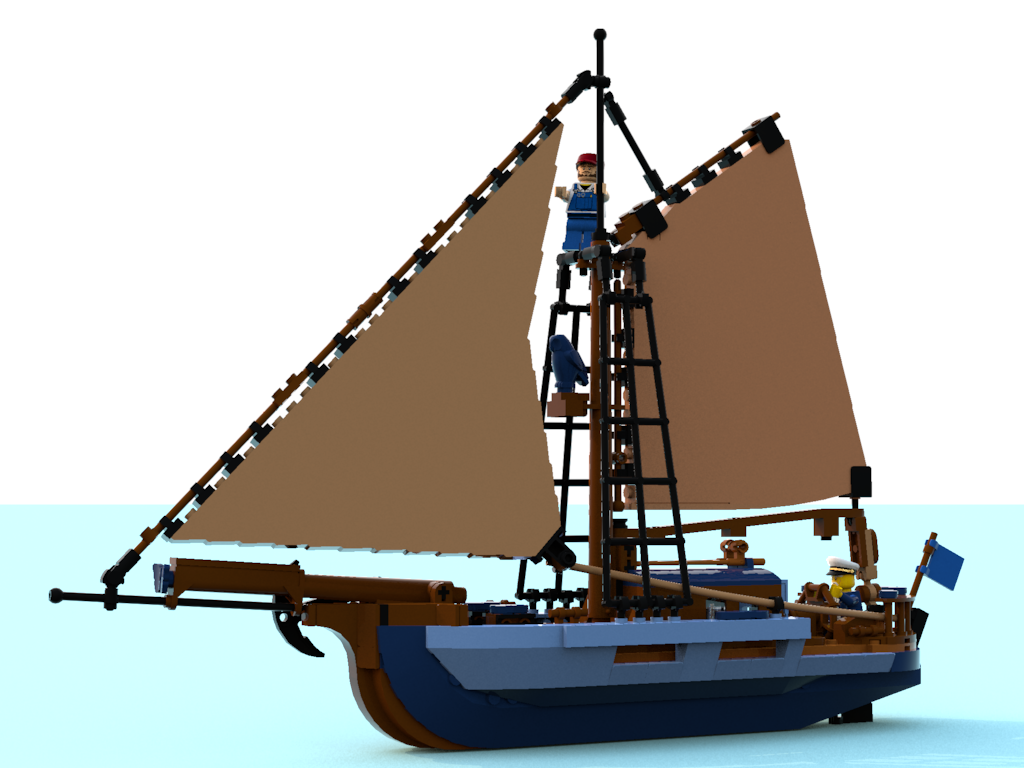 Lego Ideas Product Ideas Sea Fishing Trip On Captain Daniels