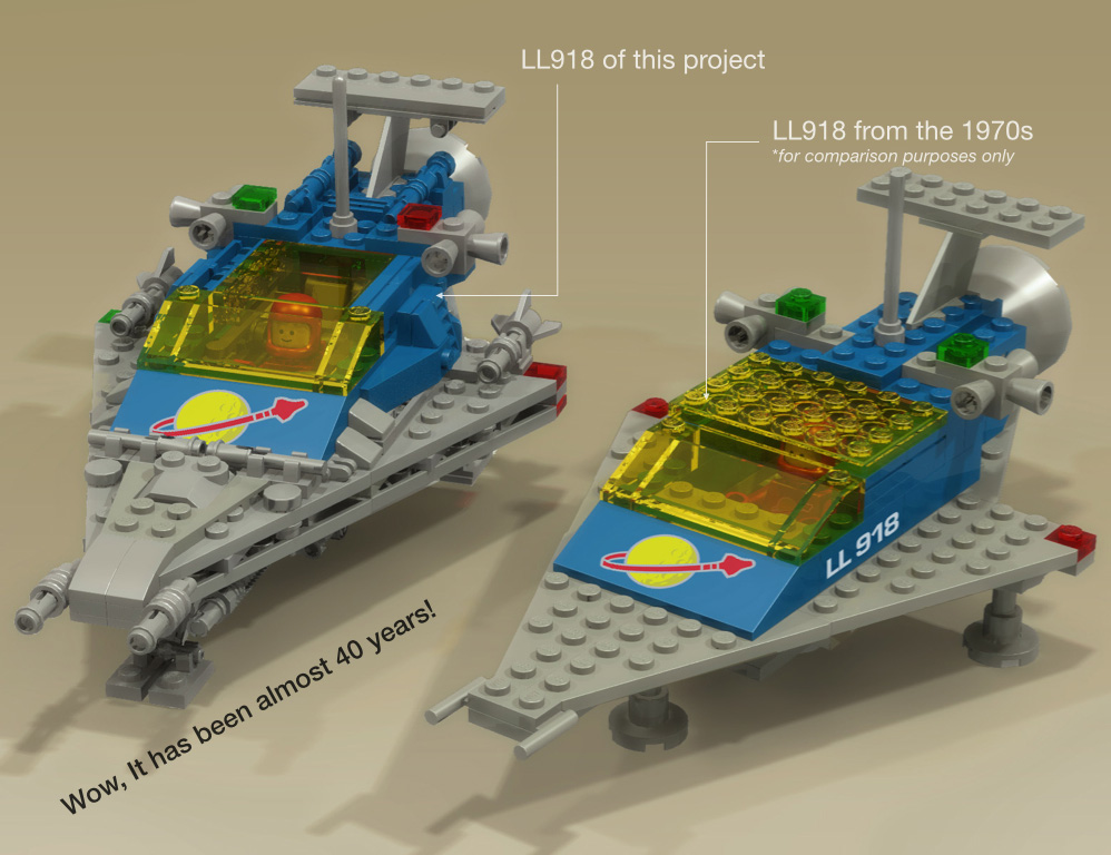Lego Ideas Product Ideas Classic Space Adventures Ll918 Space
