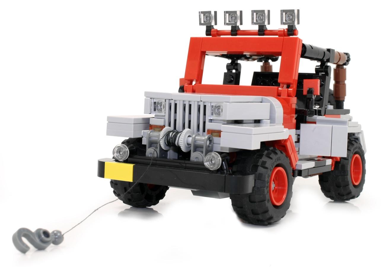 Lego Ideas Product Ideas Ucs Jurassic Park Jeep Wrangler