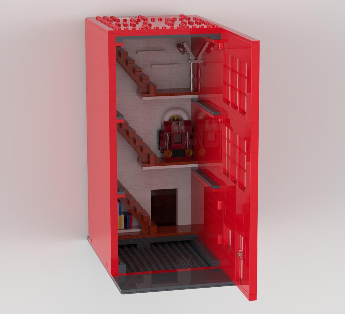 Lego Red Kitchen NEW!!!