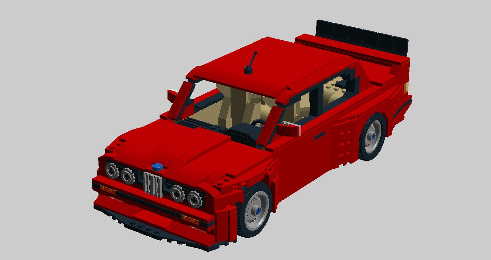 Lego Ideas Product Ideas Bmw E30 M3 Evo