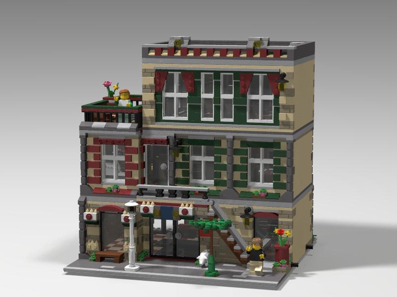 LEGO IDEAS - Product Ideas - An Apartment in Paris
