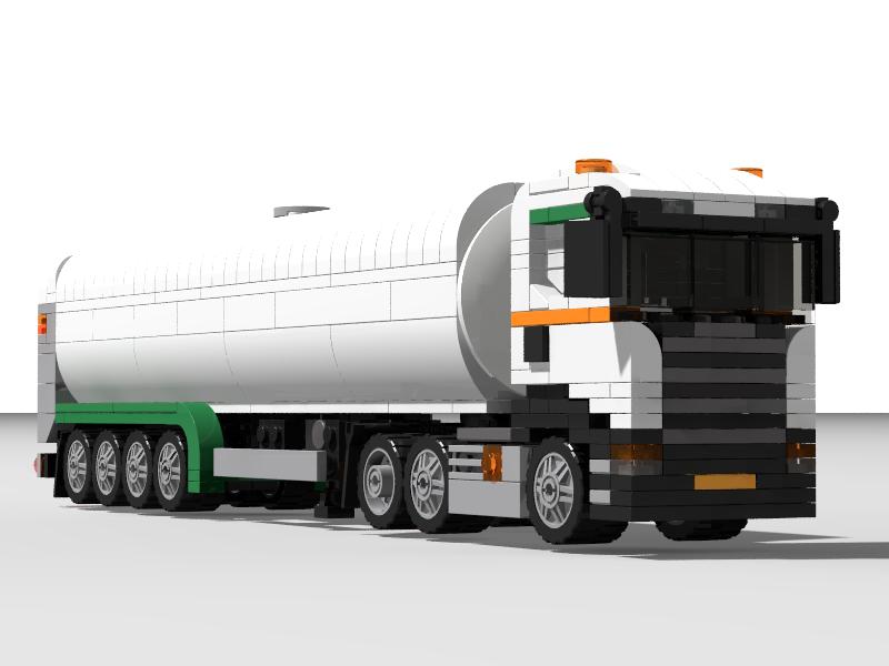 Lego Ideas Product Ideas Scania Milk Tanker
