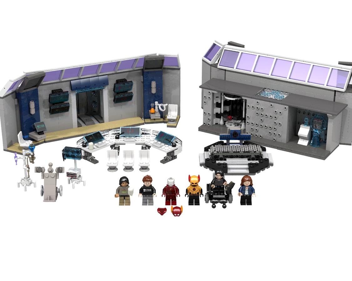 lego ideas - product ideas - the flash, star labs