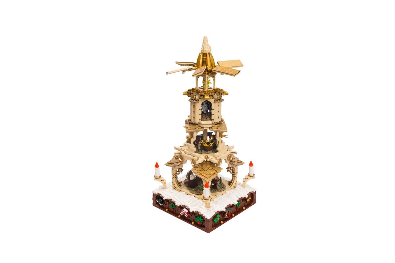 Lego Weihnachtsmarkt.Lego Ideas Product Ideas Weihnachtspyramide