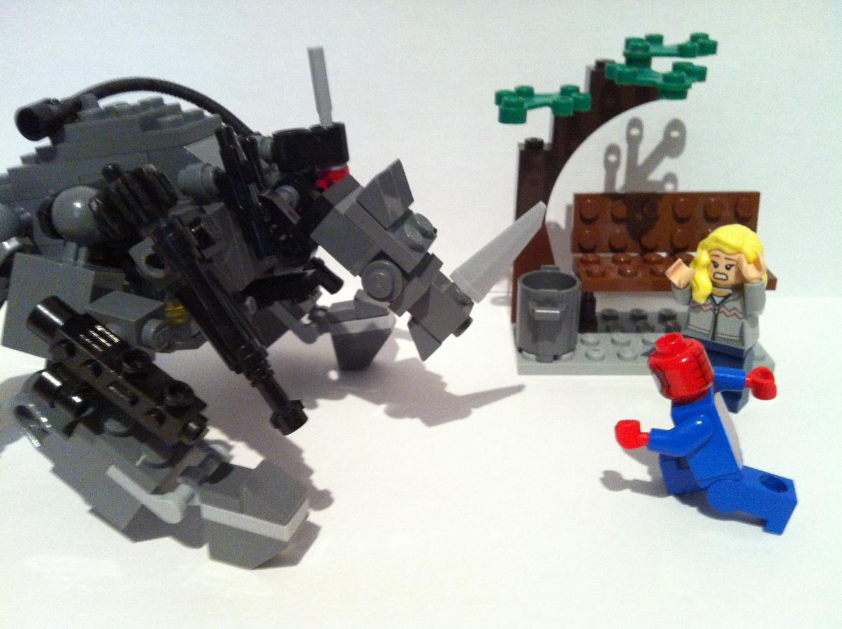 Lego ideas product ideas rhino vs the amazing spider man - Lego the amazing spider man 3 ...